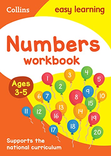 9780008151553: Numbers Workbook Ages 3-5: New Edition (Collins Easy Learning Preschool)