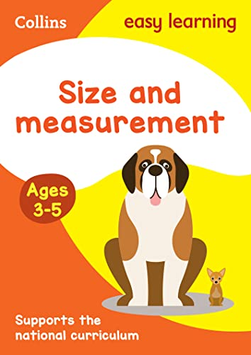 9780008151584: Size and Measurement: Ages 3-5 (Collins Easy Learning Preschool)