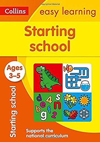 9780008151591: Collins Easy Learning Preschool - Starting School Ages 3-5: New Edition