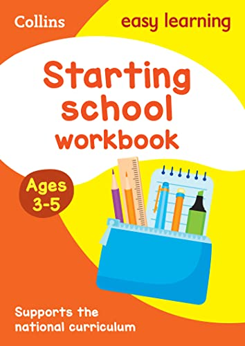 9780008151607: Collins Easy Learning Preschool - Starting School Workbook Ages 3-5: New Edition