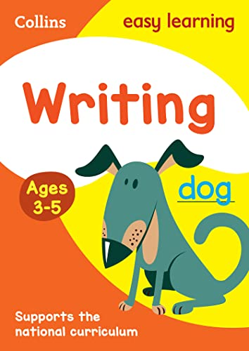 9780008151614: Collins Easy Learning Preschool - Writing Ages 3-5: New Edition