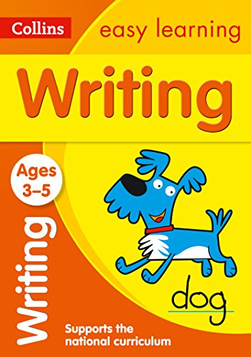 9780008151614: Writing Ages 3-5: New Edition (Collins Easy Learning Preschool)