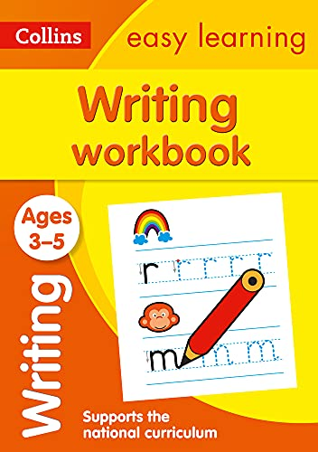 9780008151621: Collins Easy Learning Preschool - Writing Workbook Ages 3-5: New Edition