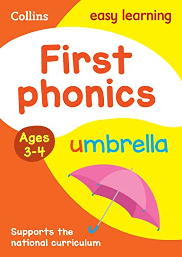 9780008151638: First Phonics Ages 3-4 (Collins Easy Learning Preschool)