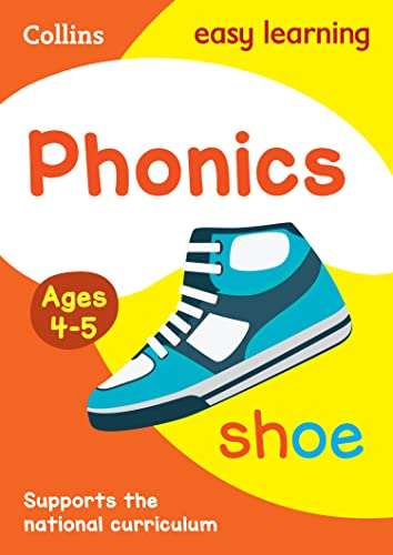 9780008151645: Collins Easy Learning Preschool ? Phonics Ages 4-5