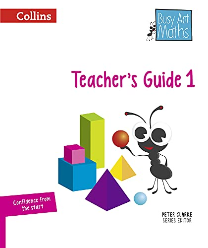 9780008157364: Busy Ant Maths European edition - Year 1 Teacher Guide Euro pack