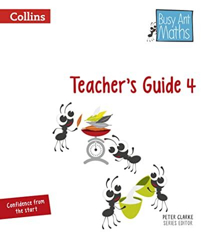 9780008157494: Busy Ant Maths European edition – Year 4 Teacher Guide Euro pack