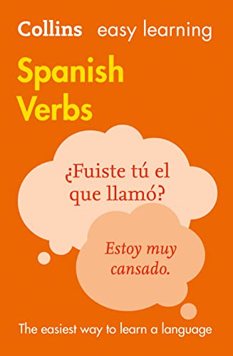 9780008158439: Easy Learning Spanish Verbs (Collins Easy Learning Spanish)
