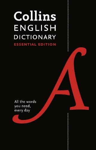 9780008158453: Collins English Dictionary: Essential edition