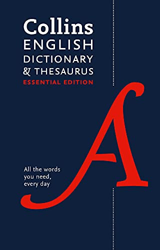 9780008158477: Collins English Dictionary and Thesaurus: Essential edition
