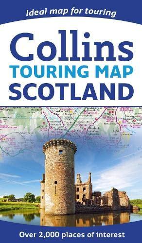 9780008158521: Scotland touring map