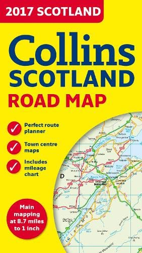 9780008158590: 2017 Collins Scotland Road Map