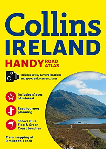 9780008158644: Collins Handy Road Atlas Ireland