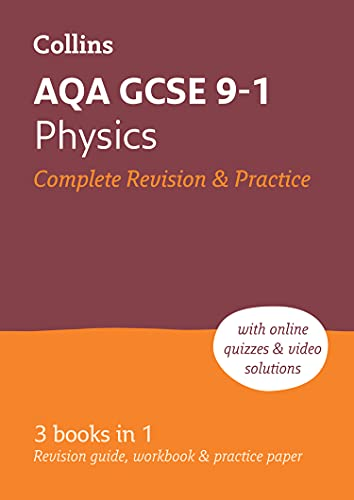 9780008160739: AQA GCSE Physics All-in-One Revision and Practice (Collins GCSE 9-1 Revision)
