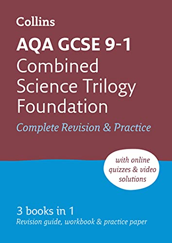 9780008160852: Grade 9-1 GCSE Combined Science Trilogy Foundation AQA All-in-One Complete Revision and Practice (with free flashcard download) (Collins GCSE 9-1 Revision)
