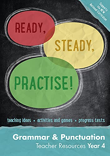 9780008161514: Year 4 Grammar and Punctuation Teacher Resources: English KS2 (Ready, Steady, Practise!)