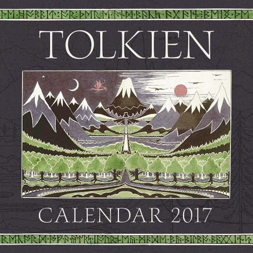 9780008163396: Tolkien Calendar 2017: The Hobbit 80th Anniversary (Calendars 2017)