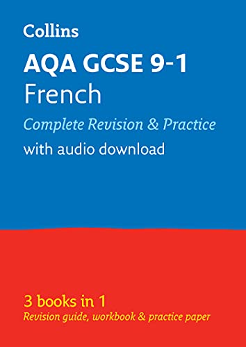 9780008166304: Grade 9-1 GCSE French AQA All-in-One Complete Revision and Practice (with free flashcard download) (Collins GCSE 9-1 Revision)