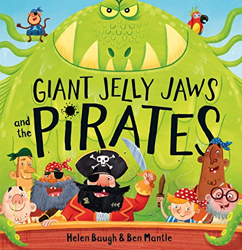 9780008167257: Giant Jelly Jaws and The Pirates