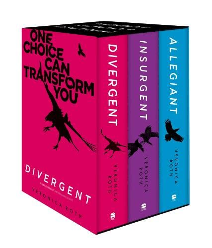 9780008175511: Divergent Series Boxed Set (Books 1-3)