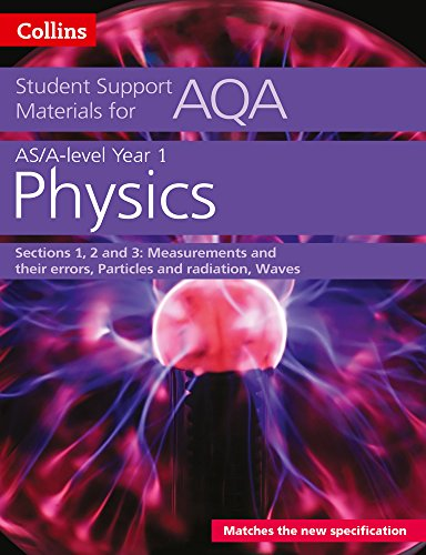 9780008180775: Collins Student Support Materials for AQA – A Level/AS Physics Support Materials Year 1, Sections 1, 2 and 3: Measurements and Their Errors, Particles and Radiation, Waves