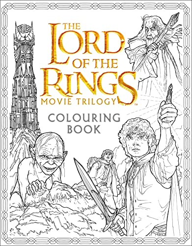 9780008185176: Lord Of The Rings. Movie Trilogy. Colouring Book (Colouring Books)