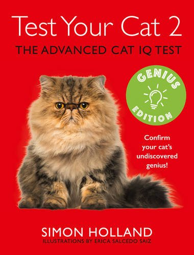 9780008188979: Test Your Cat 2: Genius Edition: Confirm your cat's undiscovered genius!