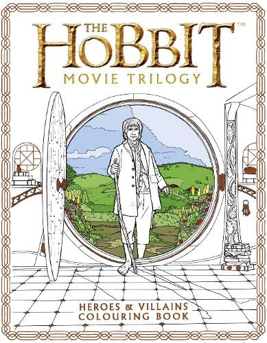 9780008189242: The Hobbit Movie Trilogy Colouring Book (Colouring Books)