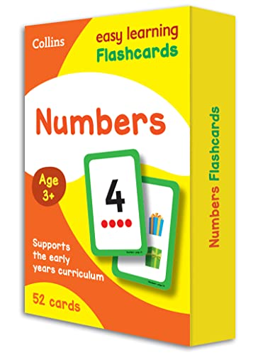 9780008201067: Numbers Flashcards (Collins Easy Learning Preschool)