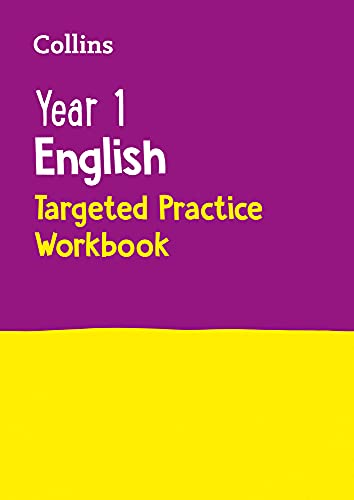9780008201647: Year 1 English Targeted Practice Workbook: 2019 tests (Collins KS1 Revision and Practice)