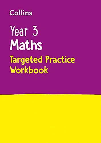 9780008201692: Year 3 Maths Targeted Practice Workbook (Collins KS2 SATs Revision and Practice)