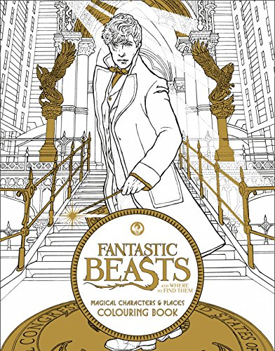 9780008204624: Fantastic Beasts and Where to Find Them: Magical Characters and Places Colouring Book