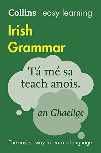 9780008207045: Easy Learning Irish Grammar (Collins Easy Learning Irish)