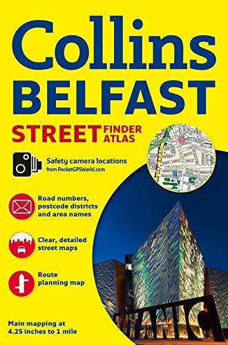 9780008211554: Collins Belfast Streetfinder Atlas