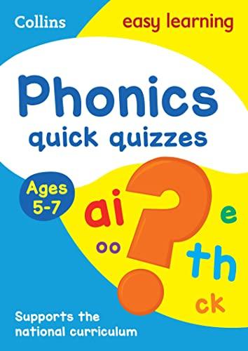 Phonics Quick Quizzes: Ages 5-7 (Collins Easy: Collins UK