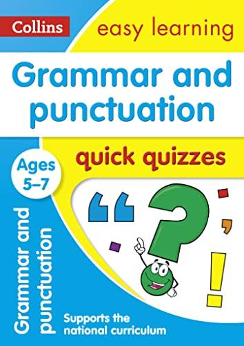 Grammar & Punctuation Quick Quizzes: Ages 5-7: Collins UK