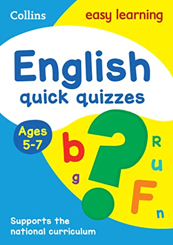 English Quick Quizzes Ages 5-7 (Collins Easy: Collins Easy Learning