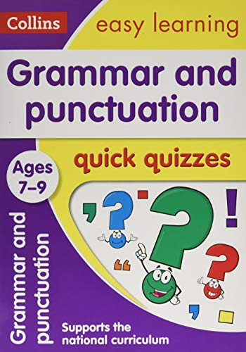 9780008212551: Grammar and Punctuation Quick Quizzes: Ages 7-9 (Collins Easy Learning KS2)