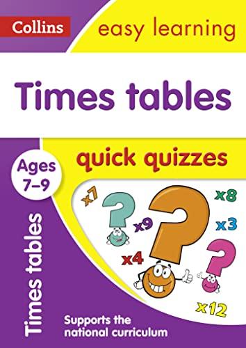 Times Tables Quick Quizzes: Ages 7-9 (Collins: Collins UK