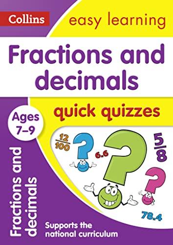 Fractions & Decimals Quick Quizzes: Ages 7-9: Collins UK