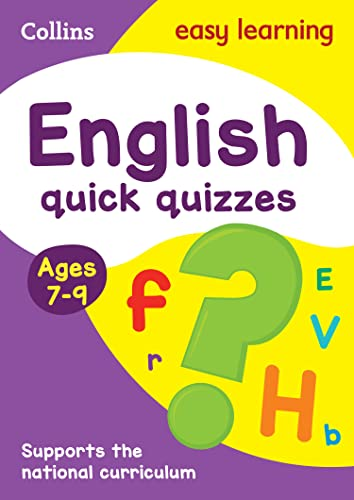 English Quick Quizzes: Ages 7-9 (Collins Easy: Collins UK