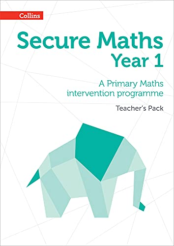 9780008221416: Secure Year 1 Maths Teacher's Pack: A Primary Maths intervention programme (Secure Maths)