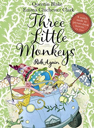 9780008243654: Three Little Monkeys Ride Again