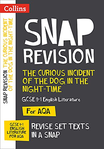 9780008247157: Collins Snap Revision Text Guides – The Curious Incident of the Dog in the Night-time: AQA GCSE English Literature