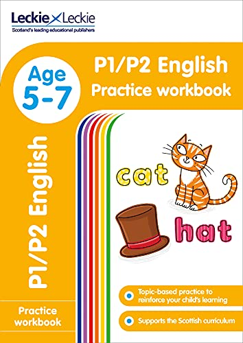 9780008250201: P1/P2 English Practice Workbook: Extra Practice for CfE Primary School English (Leckie Primary Success)