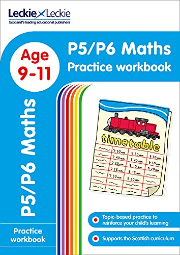 9780008250348: P5/P6 Maths Practice Workbook: Extra Practice for CfE Primary School English (Leckie Primary Success)