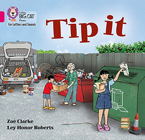 9780008251321: Tip it: Band 01A/Pink A (Collins Big Cat Phonics for Letters and Sounds)