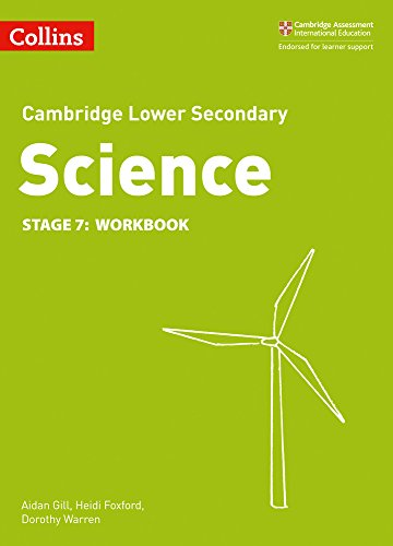 9780008254711: Lower Secondary Science Workbook: Stage 7 (Collins Cambridge Lower Secondary Science)