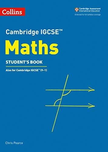 9780008257798: Cambridge IGCSE maths. Student's book. Per le Scuole superiori