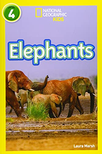 9780008266813: Elephants: Level 4 (National Geographic Readers)